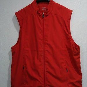 IZOD Bright Orange Vest XXL
